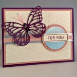 By Debbie Mageed, All About Sugar, Butterflies Thinlits, Stampin Up