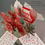 By Debbie Mageed, Card in a Box, Botanical Builder, Birthday Bouquet, Stampin Up