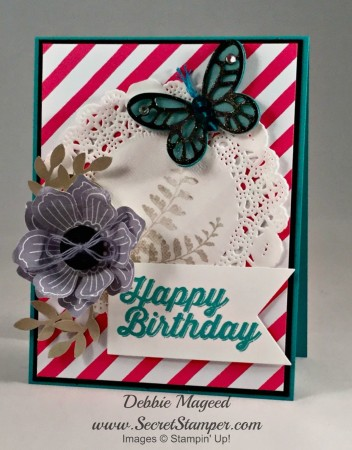 Butterfly Basics, Bloom for You, Perfect Pairings, Stampin' Up