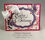 By Debbie Mageed, Timeless Textures, Easter Blessings, Thanks for Caring, Stampin Up