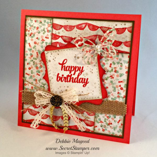 Tin of Cards, Remarkable You, Stampin Up