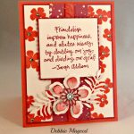 By Debbie Mageed, Bold Blossoms, Friendship Flowers, Botanical Builders, Stampin Up