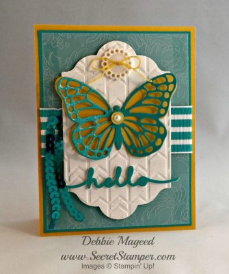 Butterflies are My Favorite Stampin Up Thinlits