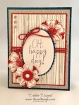 By Debbie Mageed, Build a Bouquet, Flower Shop, Stampin Up