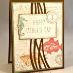 By Debbie Mageed, By the Tide, By the Seashore, Paper Pumpkin, Father's Day, Masculine, Stampin Up