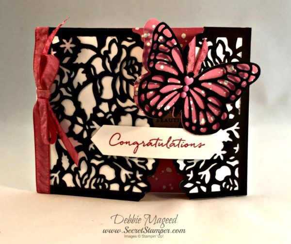 Floral Phrases, Detailed Floral Framelits, Butterflies, Wedding, Gate Fold, Stampin Up