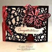 Floral Boutique Suite for a Gate Fold Wedding Card
