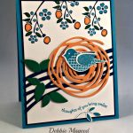 By Debbie Mageed, Polka Dot Pieces, Bordering on Romance, Swirly Scribbles, Stampin Up