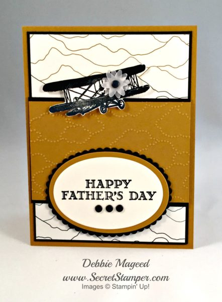 Sky Is the Limit, Guy Greetings, Father's Day, Masculine, Stampin' Up