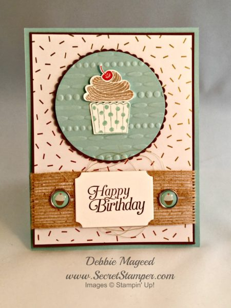 Cupcake Party, Sky is the Limit, Stampin Up