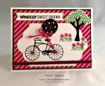 By Debbie Mageed, Cycle Celebration, Sprinkles of Life, Summer, Bicycle, Stampin Up