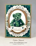By Debbie Mageed, Baby Bear, Stampin Up