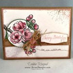 By Debbie Mageed, Indescribable Gift, Balloon Celebration, Touches of Texture, Stampin Up