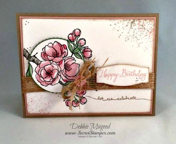 Indescribable Gift, Balloon Celebration, Touches of Texture, Stampin Up
