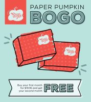 My Craft Fair is YOUR Paper Pumpkin BOGO for FREE