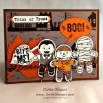 By Debbie Mageed, Cookie Cutter Halloween, Bite Me, Stampin Up