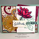 By Debbie Mageed, It's a Celebration, Remarkable You, Stampin Up