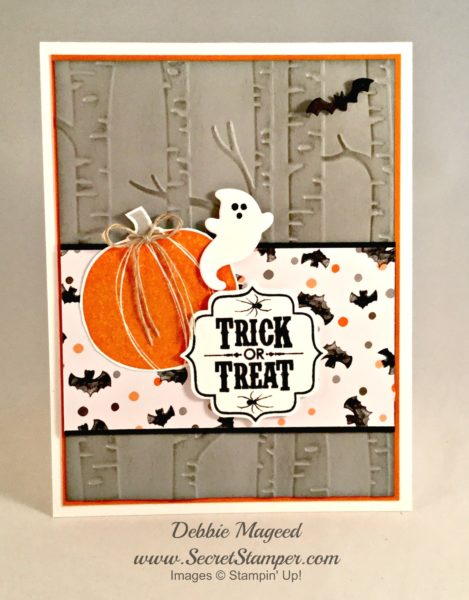 By Debbie Mageed, Spooky Fun, Jack of All Trades, Tags 4 You, Halloween, Stampin Up