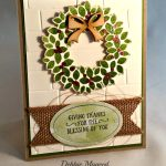 Tin of Tags, Basket of Wishes, Frosted Medallions, Wondrous Wreath, Thanksgiving, Stampin Up