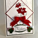 Stampin' Up! Christmas Blessings for Retro Rubber