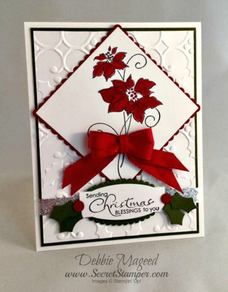 Christmas Blessings, Holiday, Stampin Up