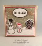 By Debbie Mageed, Snow Place, Snow Friends, Christmas, Holiday, Candy Cane Lane, Stampin Up