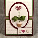 Stampin' Up! Vertical Greetings with Good Ole Pictogram Punches