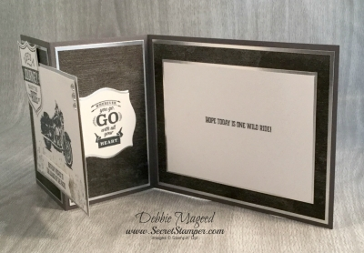 By Debbie Mageed, One Wild Ride, Wherever You Go, Masculine, Urban Underground, Stampin Up