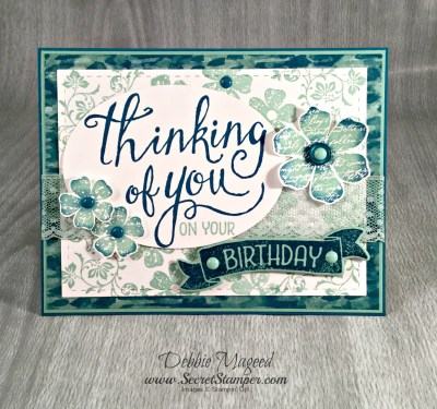 It's the Vintage Vogue Time of Year with Stampin' Up!