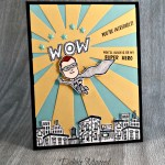 Wishing a Birthday Bright for My Everyday Hero by Stampin' Up!
