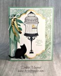 By Debbie Mageed, Builder Birdcage, Urban District, Balloon Celebration, Birthday, Stampin Up