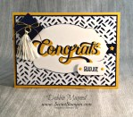 By Debbie Mageed, Double Take, Sunshine Sayings, Everyday Tags, Graduation, Stampin Up