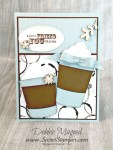 By Debbie Mageed, Best of Greetings, Coffee Cups Framelits, Stampin Up