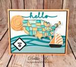 By Debbie Mageed, Lovely Inside & Out, Swirly Bird, Map It Out, Nautical, Stampin Up