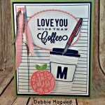 Using Writing Notes with Coffee Café So We Can Be Crafting Forever with Stampin Up