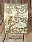 By Debbie Mageed, Beautiful Bouquet, Detailed Floral Thinlits, Wedding, Stampin Up