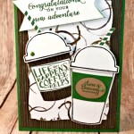 By Debbie Mageed, Merry Cafe, Coffee Cafe, Wild about Flowers, Congratulations, Masculine, Stampin Up