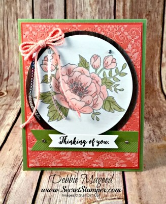 Birthday Blooms with Colorful Seasons and Watercolor Pencils