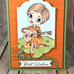 Blooms & Wishes and the Sound of Music for the Crafter's Cafe Challenge