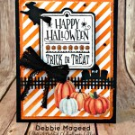 By Debbie Mageed, Halloween Treat, Paper Pumpkin, Halloween, Stampin Up