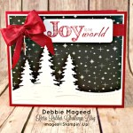 Christmas Blessings Bring Joy to the World with Stampin' Up!