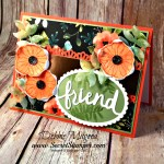 By Debbie Mageed, Oh So Eclectic, Whole Lot of Lovely, Lovely Words Thinlits, Friendship, Fall, Autumn, Stampin Up
