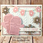 By Debbie Mageed, Smitten Mittens, Snow Place, Holiday, Stampin Up