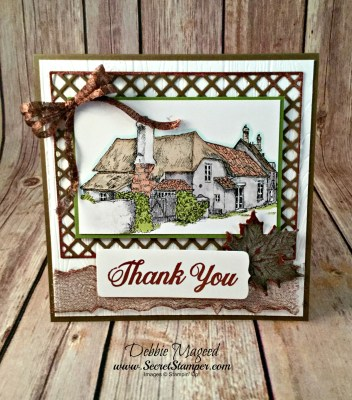 A Daisy Delight Thank You Card for the Crafters Cafe Challenge