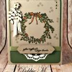 Thanksgiving Card with the Feeling of Christmas for the Sisterhood of Crafters