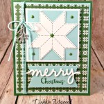 It's a Very Merry Christmas Quilt Card for the Crafter on Your List