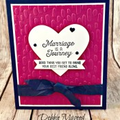 Anniversary Card for the Best Husband in the World Using Flourishing Phrases