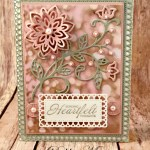 Happy New Year with Heartfelt Blooms for the Sisterhood of Crafters