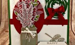 By Debbie Mageed, Jar of Love, Rose Wonder, Lots of Happy Card Kit, Perennial Birthday, Stampin Up