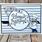 A Masculine Birthday Delivery Card for the Sisterhood of Crafters
